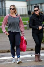 GEMMA ATKINSON Arrives at Dance Rehearsals in Manchester 10/28/2017