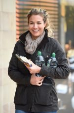 GEMMA ATKINSON Out Shopping in Manchester 10/11/2017