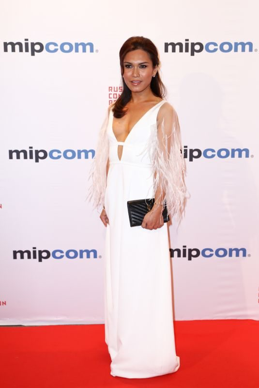 GENESIS ILADA at Mipcom Opening Cocktail in Cannes 10/16/2017