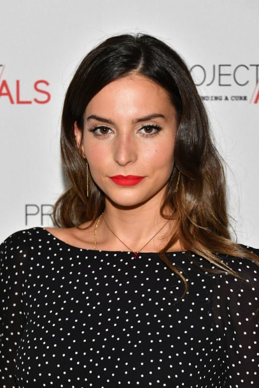 GENESIS RODRIGUEZ at 19th Annual Project Als Benefit Gala in New York 10/25/2017