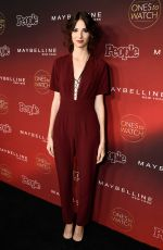 GENEVIEVE BUECHNER at People's Ones to Watch Party in Los Angeles 10/04/2017