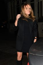 GERI HALLIWELL at Connaught Hotel in London 10/10/2017
