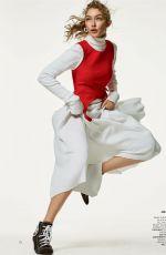 GIGI HADID and HANNAH FERGUSON in Vogue Magazine, November 2017