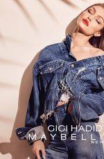 GIGI HADID for Gigi x maybelline, October 2017
