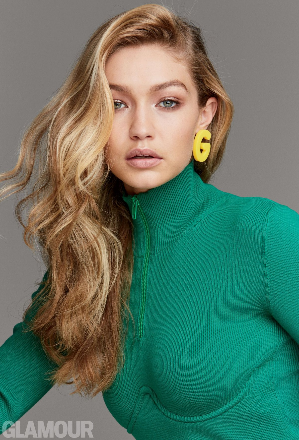 Gigi Hadid Best Beauty Trends: GIGI HADID For Glamour Magazine, Women Of The Year Issue