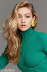 GIGI HADID for Glamour Magazine, Women of the Year Issue, December 2017