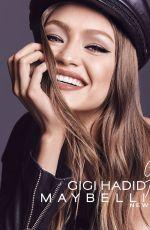 GIGI HADID for Maybelline New York, 2017 Campaign