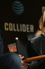 GILLIAN ANDERSON at The X-Files Panel at 2017 New York Comic-con 10/08/2017