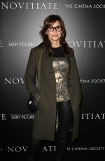 GINA GERSHON at Novitiate Screening in New York 10/26/2017
