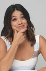 GINA RODRIGUEZ at Jane the Virgin Press Conference in Beverly Hills 10/11/2017
