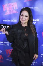 GLORIA ESTEFAN at On Your Feet Broadway Musical in Miami 10/06/2017