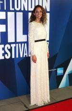 GLORIA HUWILER at 61st BFI London Film Festival Awards in London 10/14/2017