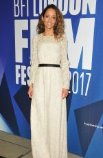 GLORIA HUWILER at 61st BFI London Film Festival Awards in London 10/14/2017