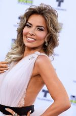 GLORIA TREVI at 2017 Latin American Music Awards in Hollywood 10/26/2017
