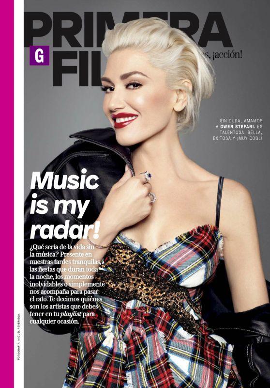 GWEN STEFANI for Glamour Magazine, Mexico October 2017