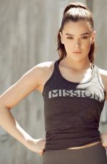 HAILEE STEONFELD for Mission Activewear Line 2017