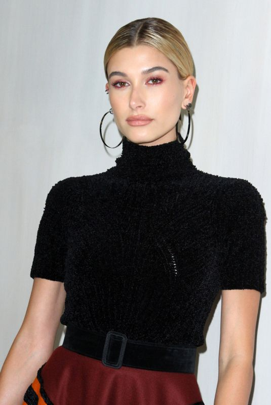 HAILEY BALDWIN at Hammer Museum Gala in the Garden Honoring Ava Duvernay in Los Angeles 10/14/2017
