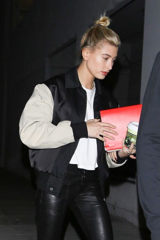 HAILEY BALDWIN Out and About in Los Angeles 10/04/2017