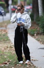 HAILEY BALDWIN Out and About in West Hollywood 10/30/2017