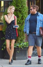 HAILEY CLAUSON Out in New York 10/05/2017