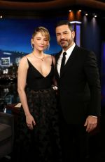 HALEY BENNETT at Jimmy Kimmel Live in Los Angeles 10/25/2017