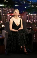 HALEY BENNETT at Jimmy Kimmel Live in Los Angeles 10/25/2017