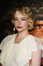 HALEY BENNETT at Thank You for Your Service Premiere in LLos Angeles 10/23/2017