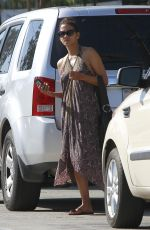 HALLE BERRY Leaves Gracias Madre in West Hollywood 10/18/2017