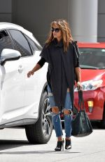 HALLE BERRY Out and About in Los Angeles 10/03/2017