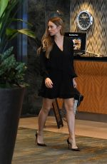 HANNAH DAVIS Out and About in Miami 10/03/2017