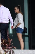 HANNAH DAVIS Out House Hunting in Miami 10/04/2017