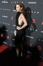 HANNAH EMILY ANDERSON at Jigsaw Premiere in Los Angeles 10/25/2017