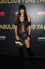 HANNAH FERGUSON at 2017 Amfar Fabulous Fund Fair in New York 10/28/2017