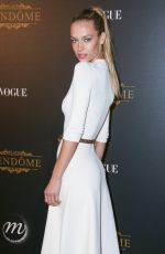 HANNAH FERGUSON at Vogue Party at Paris Fashion Week 10/01/2017