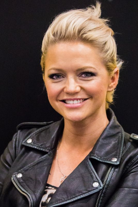 HANNAH SPEARRITT at German Comic-con in Berlin 10/01/2017