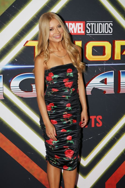 HAVANA BROWN at Thor: Ragnarok Premiere in Sydney 10/15/2017