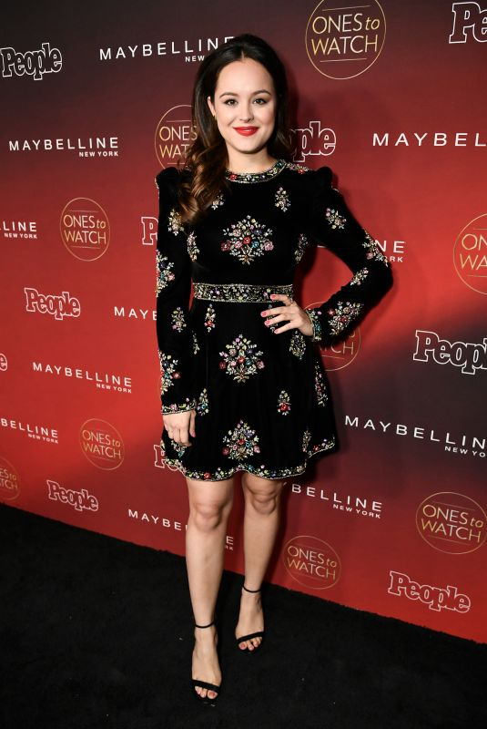 HAYLEY ORRANTIA at People's Ones to Watch Party in Los Angeles 10/04/2017