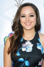 HAYLEY ORRANTIA at TJ Martell Foundation Family Day in Los Angeles 10/07/2017