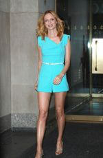 HEATHER GRAHAM Promotes Her Law & Order Series in New York 10/23/2017