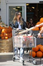 HEIDI KLUM at Grocery Shopping in Los Angeles 10/01/2017