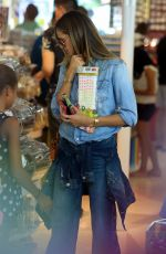 HEIDI KLUM Shopping at The Grove in Hollywood 10/15/2017