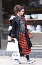 HELENA BONHAM CARTER Out Shopping in London 10/01/2017