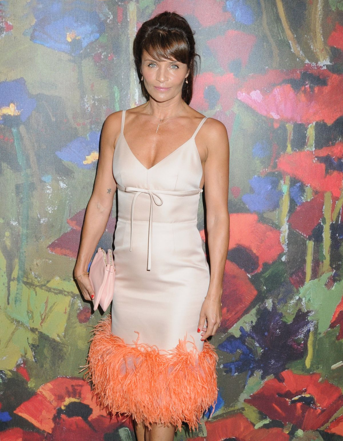 Helena Christensen At Take Home A Nude Auction, New York