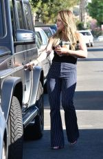 HILARY DUFF Out for Ice Coffee in Studio City 10/25/2017