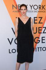 HILARY RHODA at Volez, Voguez, Voyagez: Louis Vuitton Exhibition Opening in New York 10/26/2017