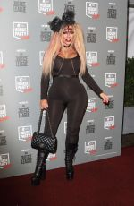HOLLY HAGAN at Kiss FM's Haunted House Party in London 10/26/2017