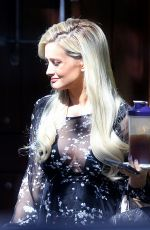 HOLLY MADISON Out and About in Los Angeles 09/28/2017
