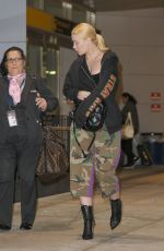 IGGY AZALEA at JFK Airport in New York 10/16/2017