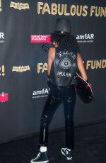 IMAAN HAMMAM at 2017 Amfar Fabulous Fund Fair in New York 10/28/2017