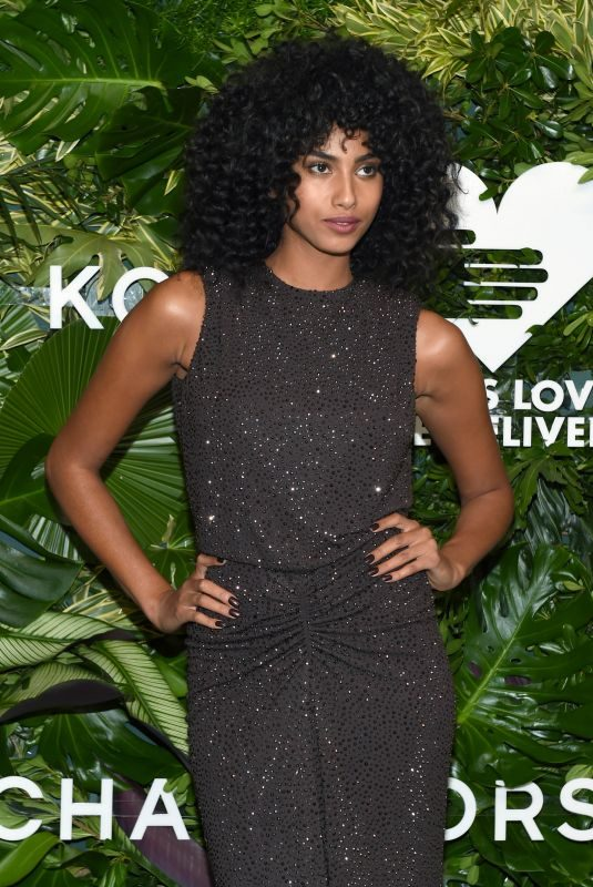 IMAAN HAMMAM at God's Love We Deliver, Golden Heart Awards in New York 10/16/2017
